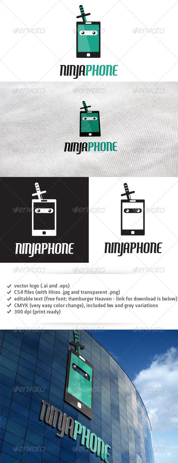 Ninja Phone Logo