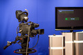 TV Camera in Studio - PhotoDune Item for Sale