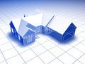 3D Blueprint House - PhotoDune Item for Sale