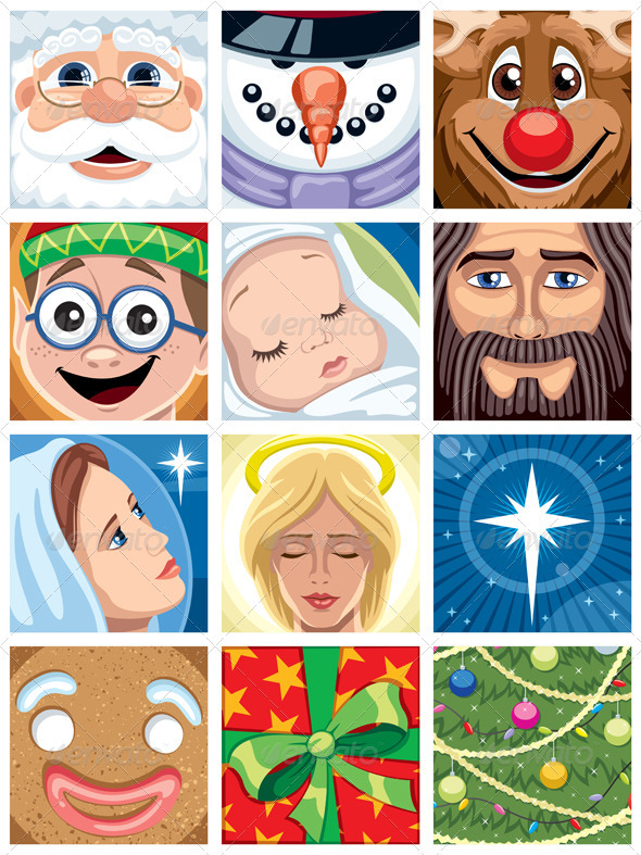Christmas Avatars - Christmas Seasons/Holidays