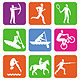 Vector Collection with 36 Sports Icons - GraphicRiver Item for Sale