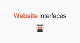 Website Interfaces