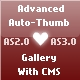 Advanced auto-thumb gallery with CMS - ActiveDen Item for Sale