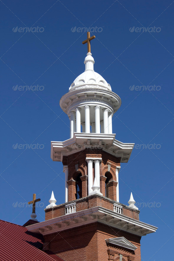 Old Brick Church - Stock Photo - Images