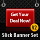 Slick Modern Banner Set v2.0 - GraphicRiver Item for Sale