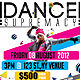 Dance Supremacy/Dance Battle Flyer Template - GraphicRiver Item for Sale
