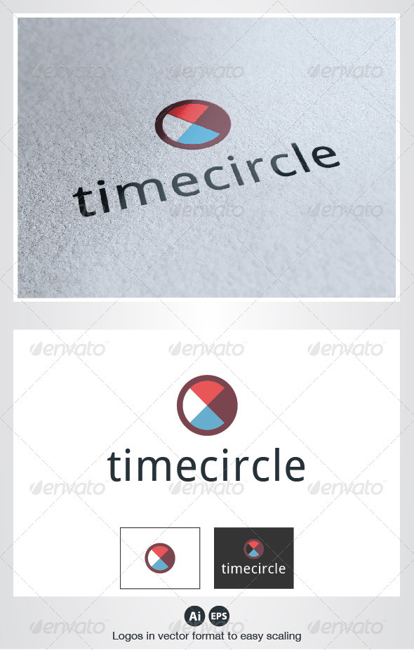 Time Circle Logo - Symbols Logo Templates