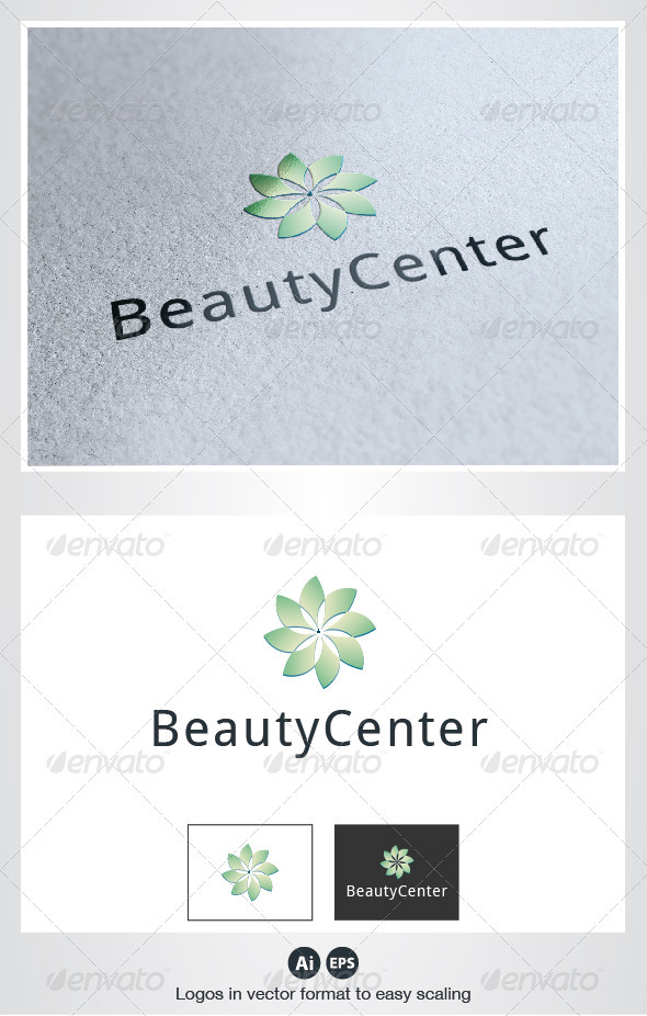 Beauty Center Logo - Nature Logo Templates