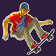 Cool skateboarder - GraphicRiver Item for Sale