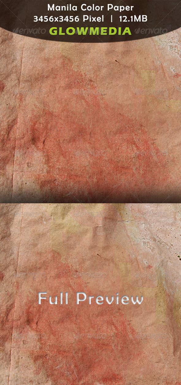 Manila Color Paper - Paper Textures