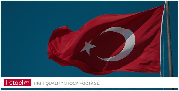 Turkey Flag View