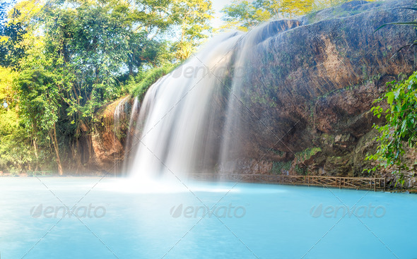 Prenn waterfall - Stock Photo - Images