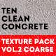 Clean Concrete Texture Pack Vol.2 Coarse - GraphicRiver Item for Sale