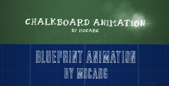 After Effects Project - VideoHive Chalkboard and Blueprint Presentation 274 ...