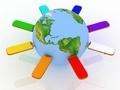 Conceptual image - global communication