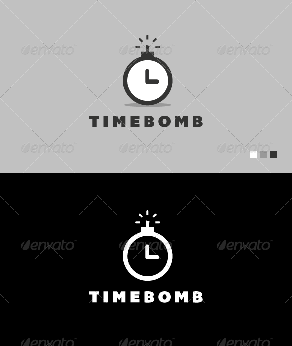 Time Bomb - Logo Template - Objects Logo Templates