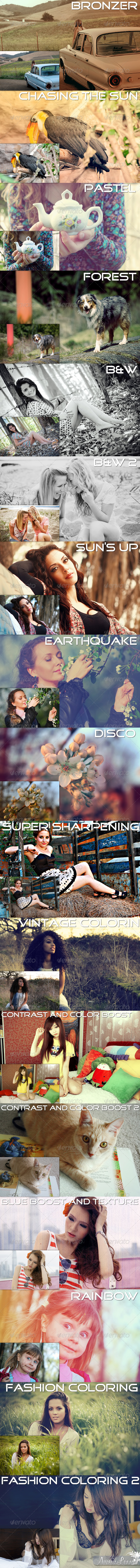 Enchanting Big Pack - PS effects - Photo Effects Actions