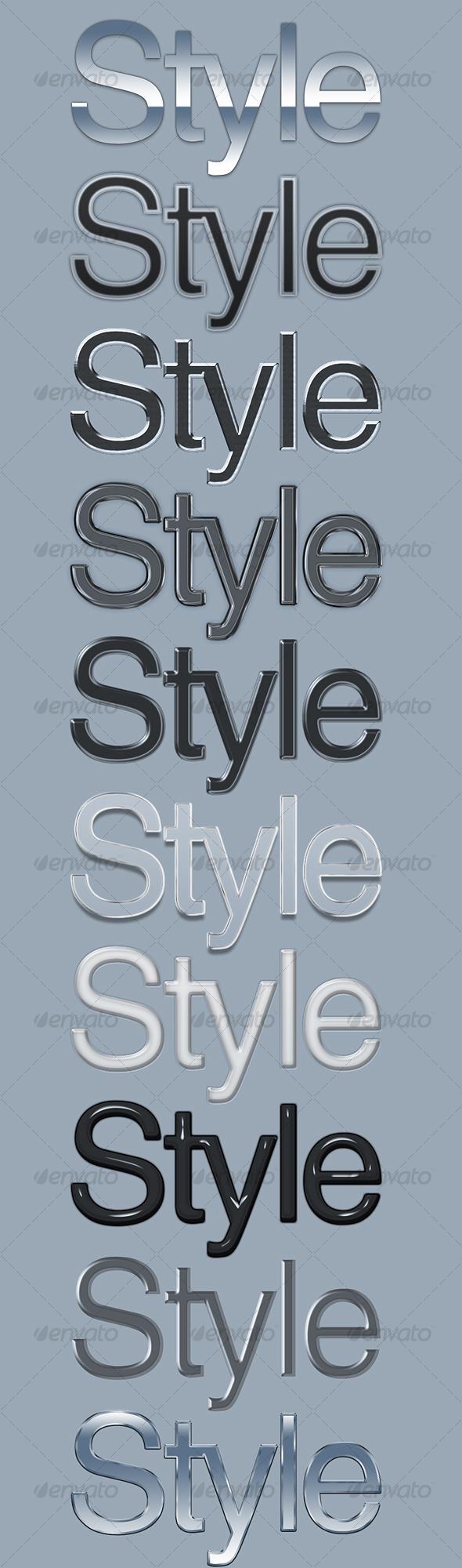 GraphicRiver 10 Elegant Text Styles 99001