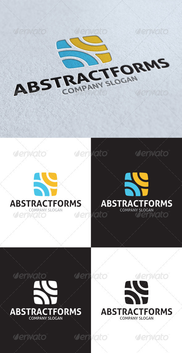 GraphicRiver Abstract Forms Logo V2 2743671