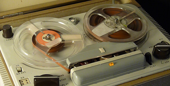 Old Tape Recorder By Yio Videohive