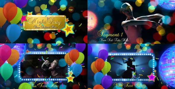 After Effects Project - VideoHive Night Party 2744580
