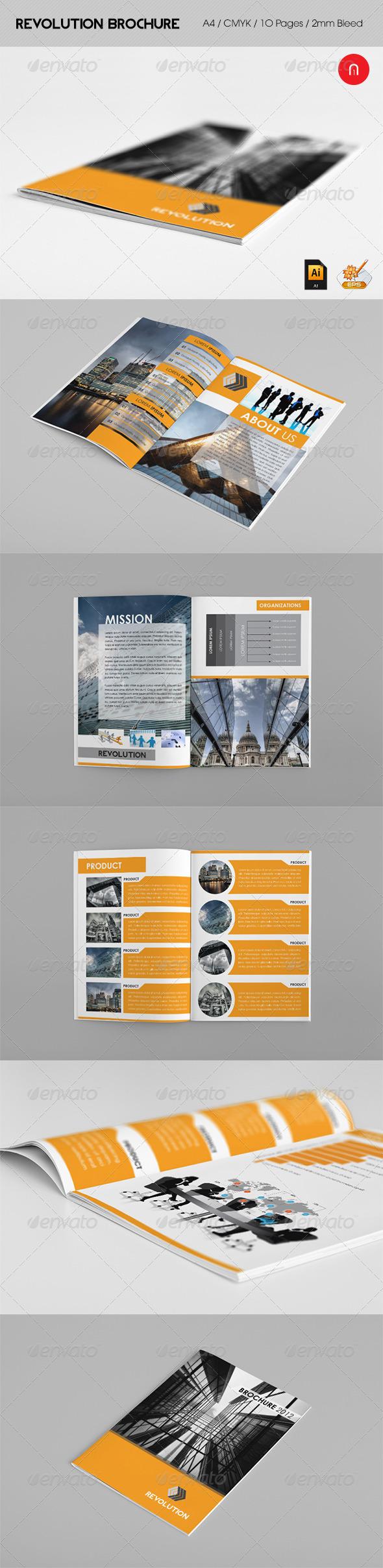 Revolution Brochure 2012 - Brochures Print Templates