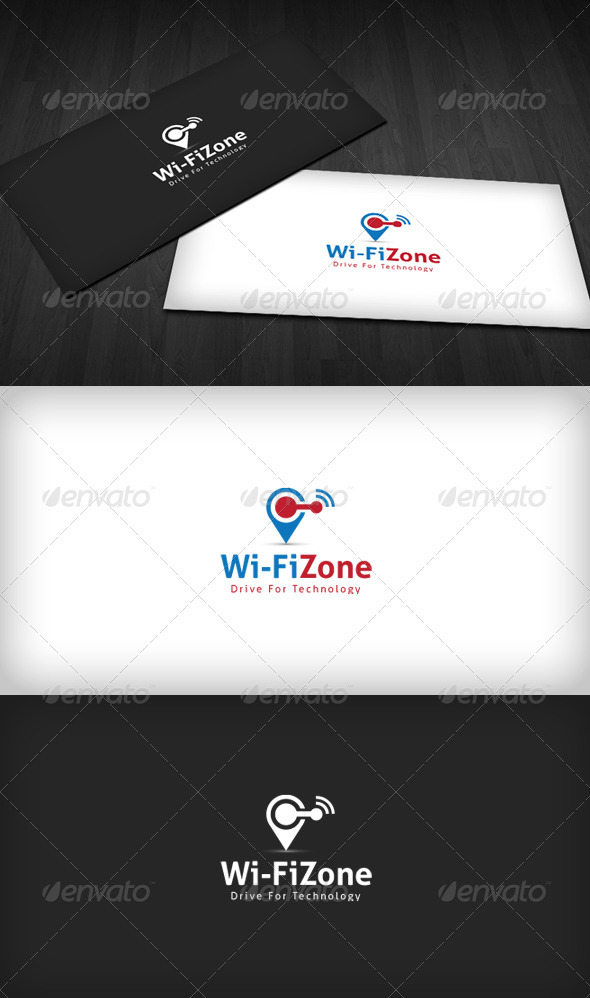 Wifi Zone Logo Objects Logo