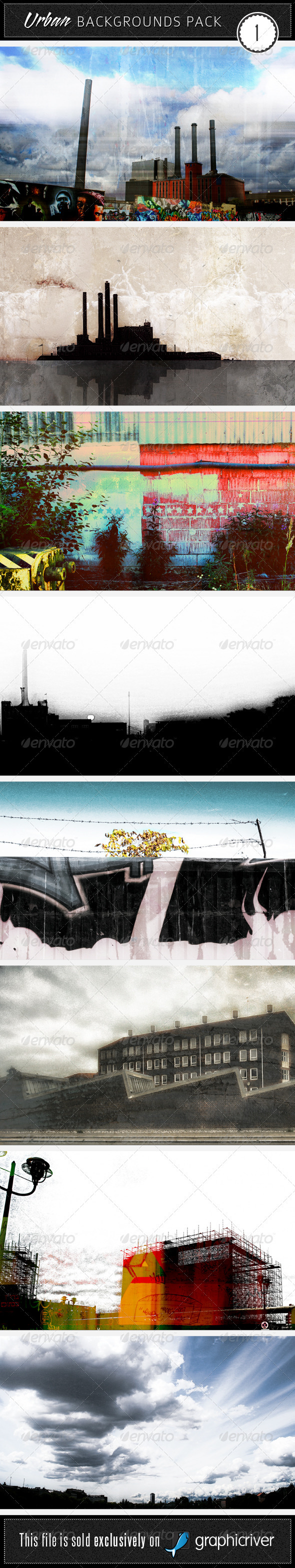 GraphicRiver Urban Backgrounds Pack 1 35868
