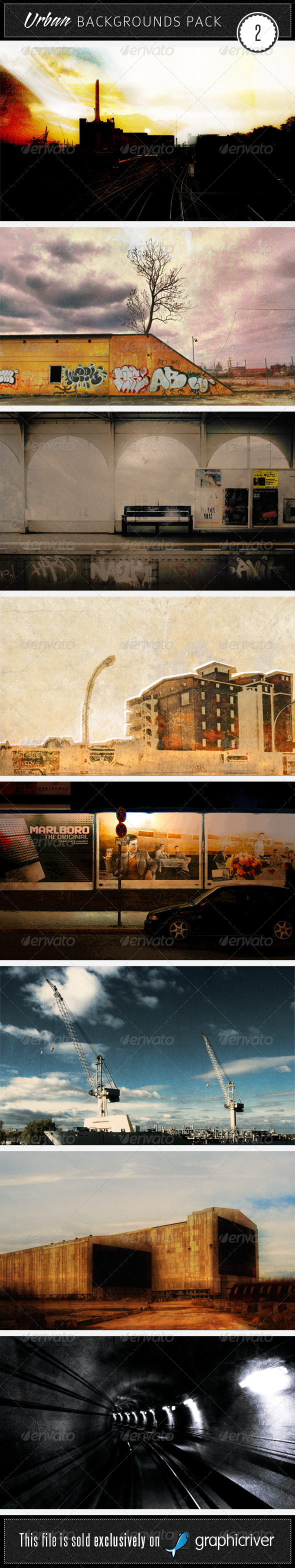 GraphicRiver Urban Backgrounds Pack 2 37189