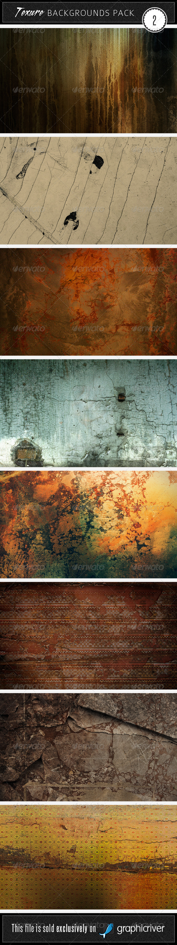 GraphicRiver Texture Backgrounds Pack 2 39053