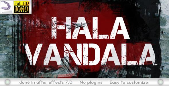 VideoHive Hala Vandala 2746726