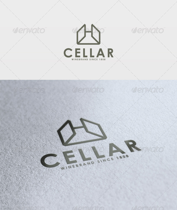 Cellar Logo - Vector Abstract