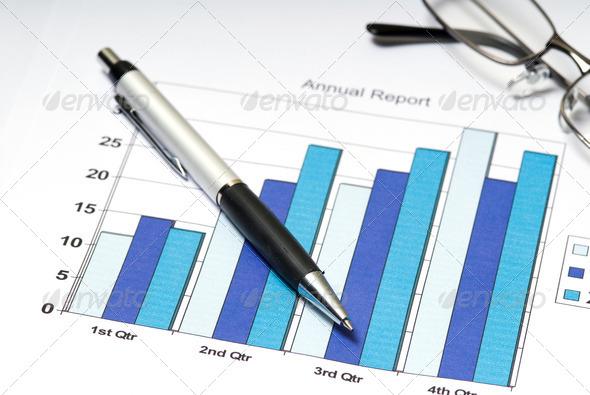 Stock Photo - PhotoDune Chart 300640