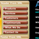 dynamic xml scroll menu - ActiveDen Item for Sale