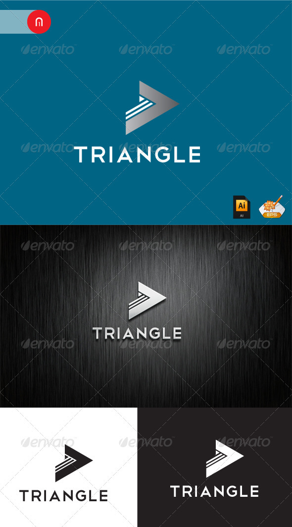 Triangle Logo Template - Symbols Logo Templates