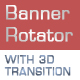 Banner Rotator With 3D Transition - ActiveDen Item for Sale