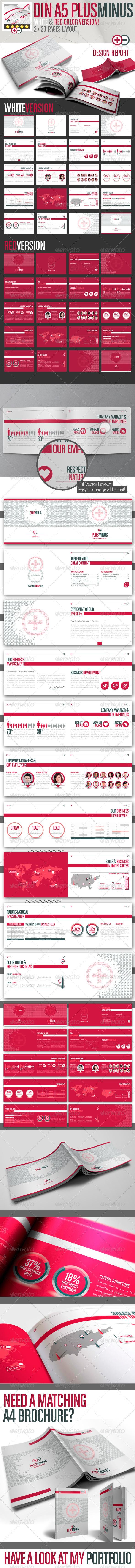 PLUSMINUS Corporate Brochure A5 // 2 Color Version - Corporate Brochures