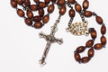 Catholic rosary isolated over white background  - PhotoDune Item for Sale