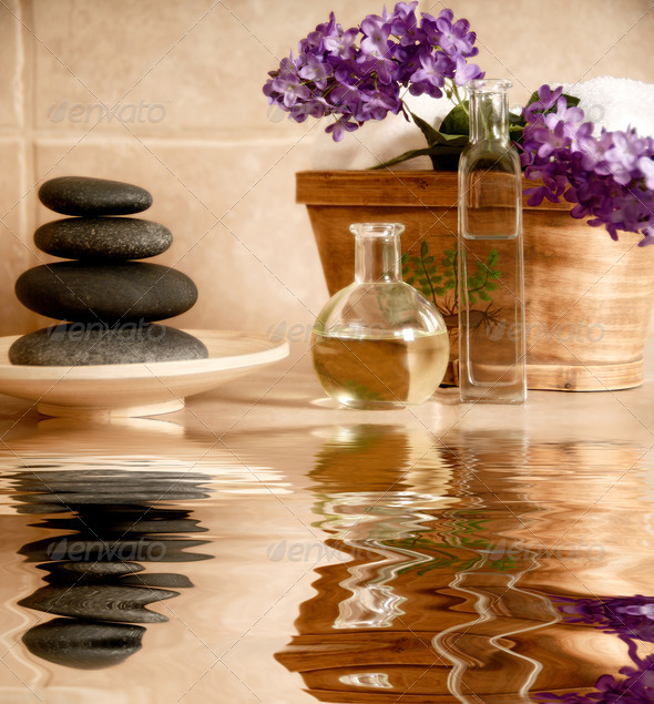 Spa products - Stock Photo - Images