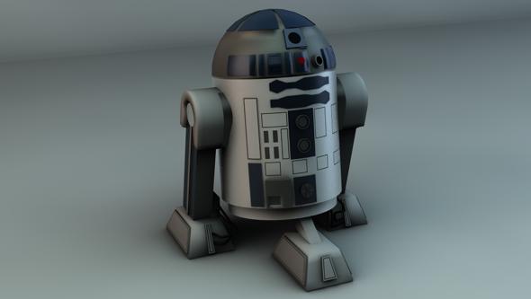 3DOcean Star Wars R2D2 98782