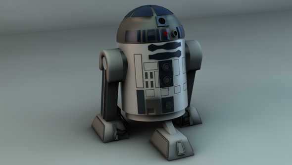 Star Wars R2D2 - 3DOcean Item for Sale