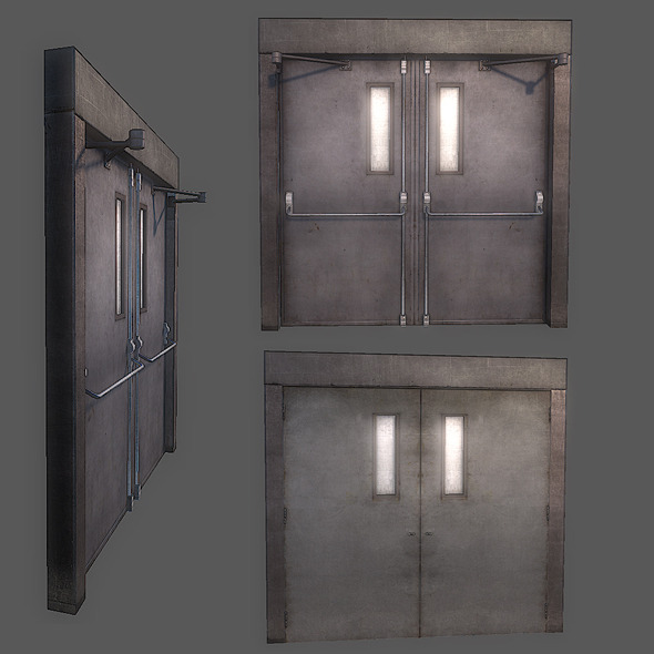 Generic Entrance Door - 3DOcean Item for Sale
