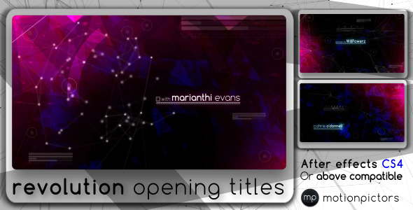 After Effects Project - VideoHive Revolution 2750623