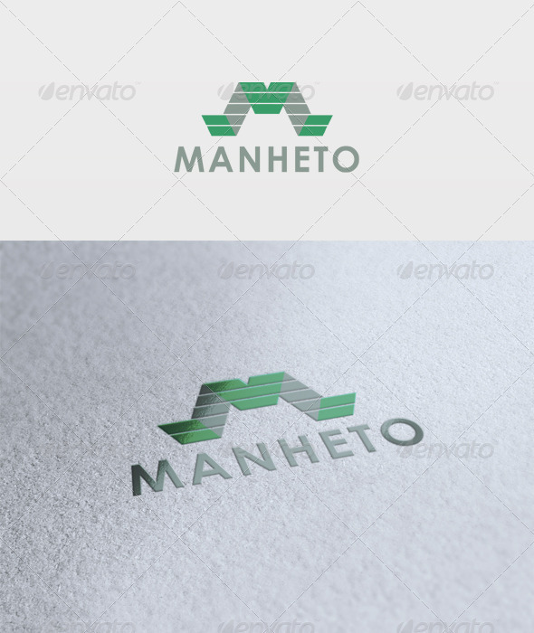 GraphicRiver Manheto Logo 2751244