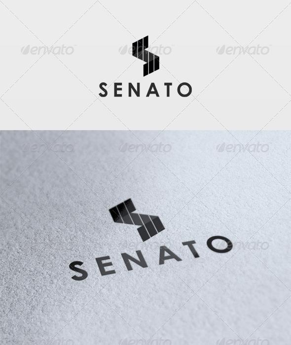 GraphicRiver Senato Logo 2751325