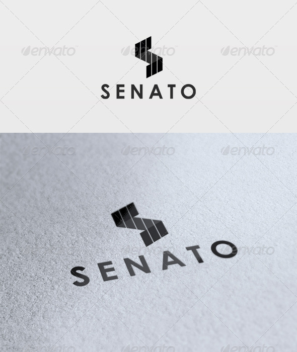 Senato Logo - Letters Logo Templates