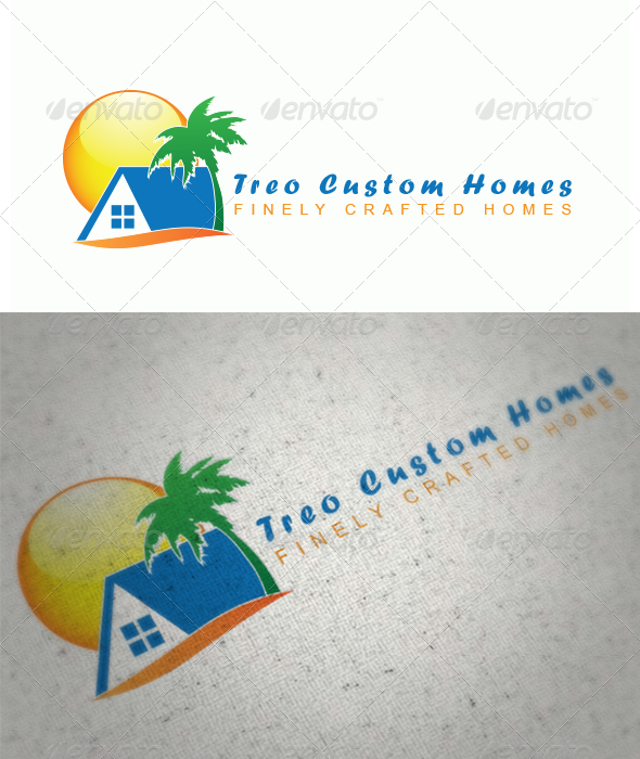 Treo Homes - Buildings Logo Templates