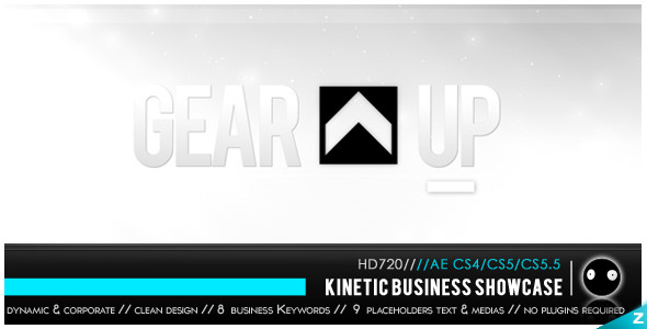 VideoHive Kinetic Business Showcase 2731066