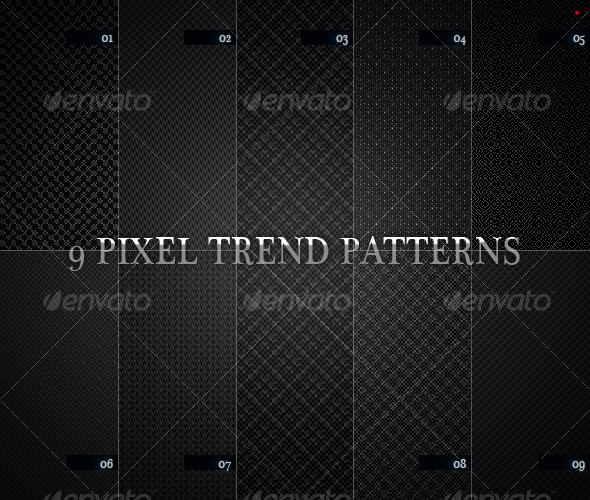 9 pixel trend pattern - Miscellaneous Textures / Fills / Patterns