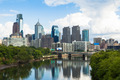 Skyline view of Philadelphia, Pennsylvania